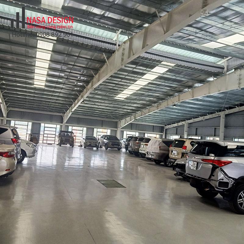 Bàn giao nhà xưởng Toyota Bình Dương