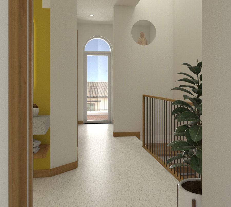 Thiết kế hành lang