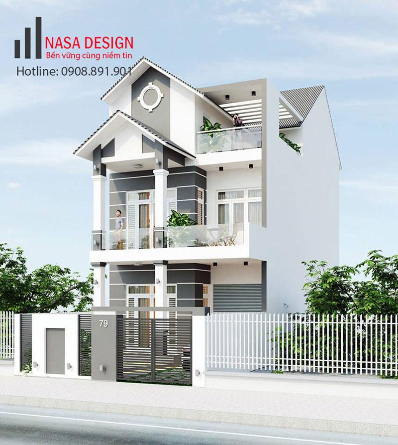 Thiết kế nhà lầu tại Bình Dương