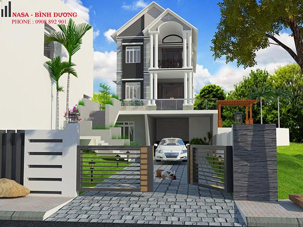 thiết kế nhà ở tại bình dương