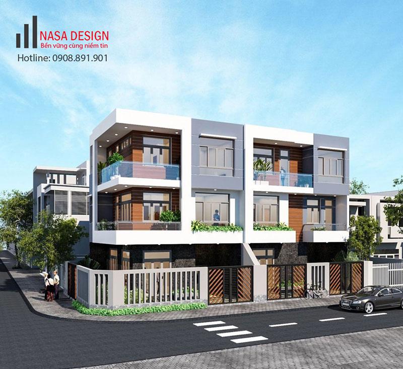 Thiết kế nhà phố tại Bình Dương