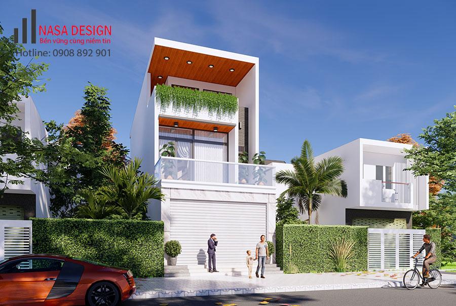 Thiết kế nhà phố Thuận An