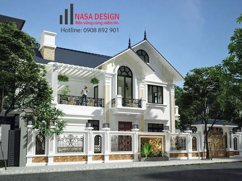 Thiết kế thi công xây dựng biệt thự tại Bình Dương