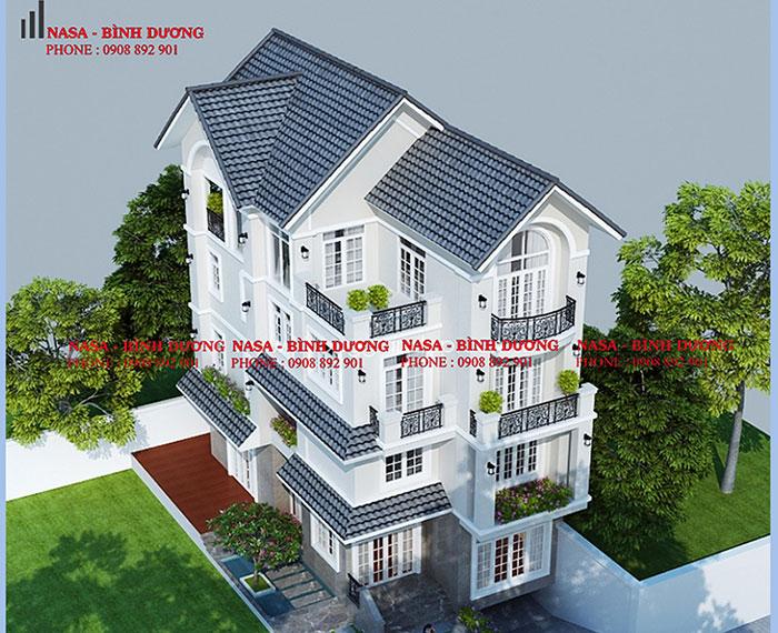 thiết kế xây dựng Biệt Thự uy tín tại TpHCM