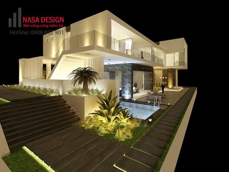 Thiết kế thi công xây dựng biệt thự