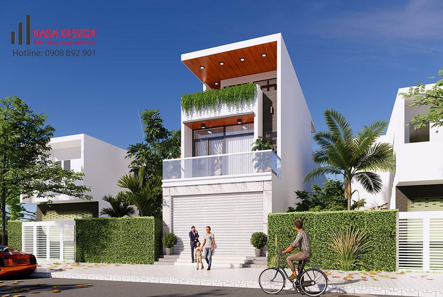Xây dựng nhà phố Thuận An Bình Dương